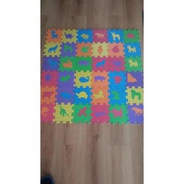 Mata- gumowe puzzle dla dzieci