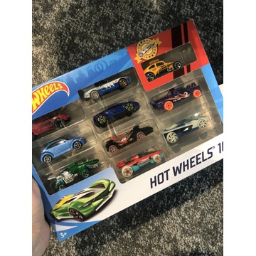 NOWE!Samachody Hot Wheels 10-pak, HOT 54886