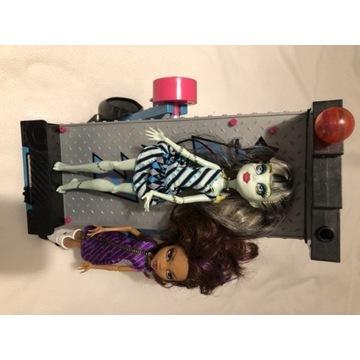 Monster High lalki plus zestaw mebli
