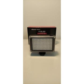 Lampa Ulanzi 112 LED + Uchwyt Bracket GWARANCJA