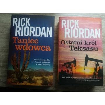 Rick Riordan - Taniec wdowca /Ostatni król Teksasu
