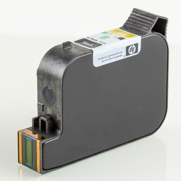 Czarny tusz HP 15, cartridge