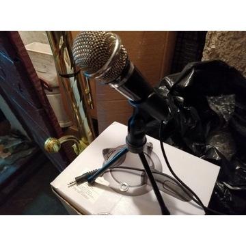 Mikrofon do komputera słuchawki myszka licytacja