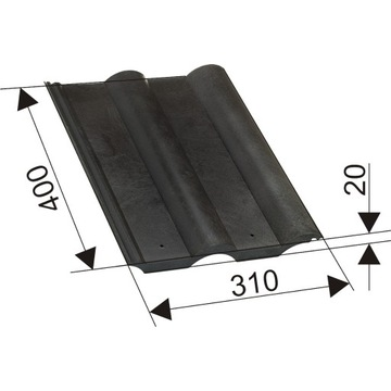 dachówka lepsza od ceramicznej, betonowej