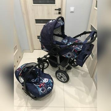 Wózek dziecięcy TAKO Jumper 2w1 gondola nosidełko