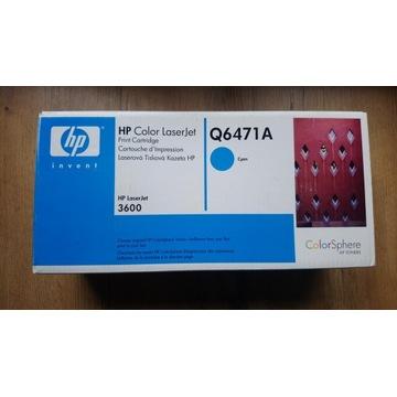 Toner HP Q6471A, LaserJet do 3600 - cyan błękitny