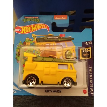 Hot wheels party wagon turtles 2021