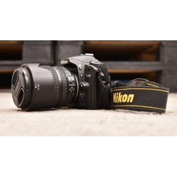 Nikon D90  32278zdj. + NIKKOR 18-105 VR FV VAT 23%