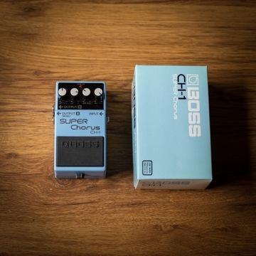 BOSS CH-1 SUPER Chorus (1993r) /MN3007 BBD analog/