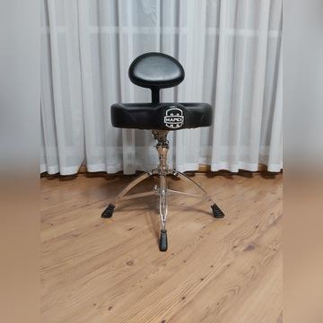 Mapex T775 stołek perkusyjny z oparciem.