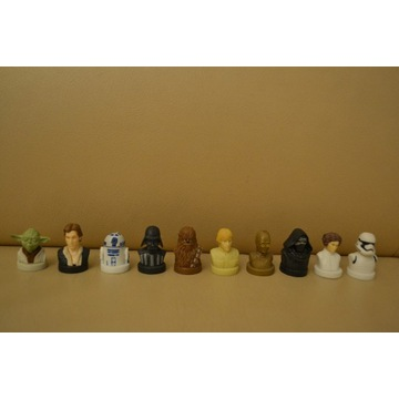 star wars figurki pieczątki - 10szt
