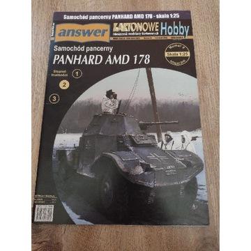 Model kartonowy Answer Panhard AMD 178