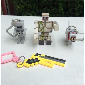 Ludzik Minecraft Iron Golem plus dodatki
