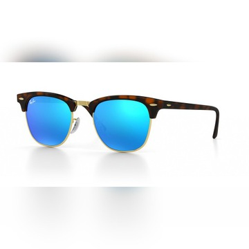 Ray-Ban Okulary CLUBMASTER RB3016 990/7Q Gradient