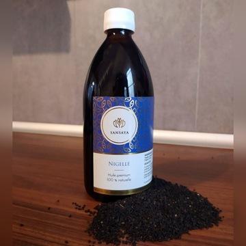 Olej z Czarnuszki Siewnej 100% Extra Virgin 500 ml
