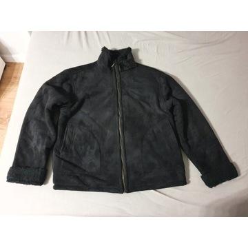Zamszowa kurtka z korzuszkiem XXL