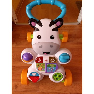 Pchacz zebra Fisher Price.