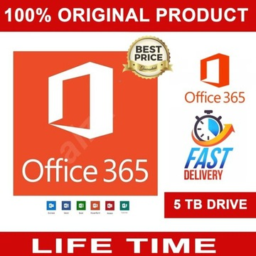 Microsoft Office365 Pro Plus 32/64bit Pl