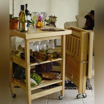 Składany drewniany stolik Oasis Concepts