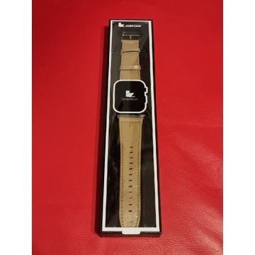 Pasek do Apple Watch 42mm i 44mm, skóra kozia