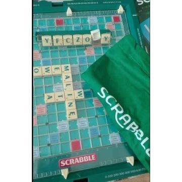 Scrabble Travel z walizką -wer.POLSKA lub rosyjska