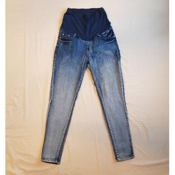 Spodnie jeansy ciążowe 38