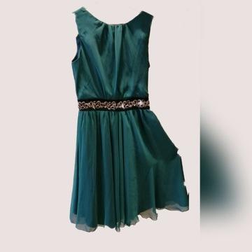 Zielona sukienka rozm 38