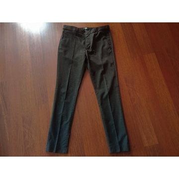 H&M spodnie garniturowe skinny fit rozm S 32r