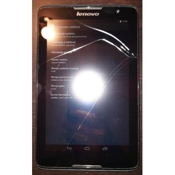 Tablet lenovo A5500-H pęknięty.