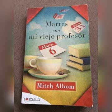 książka po hiszpańsku Martes con me viejo profesor