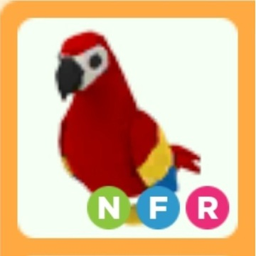 Roblox Adopt Me Parrot NFR neon