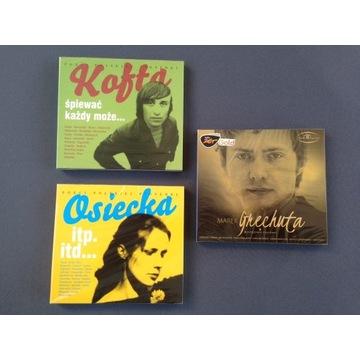 Osiecka, Grechuta, Kofta - 3 podwójne albumy CD