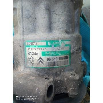 Sprężarka kompresor klimatyzacji citroen c4