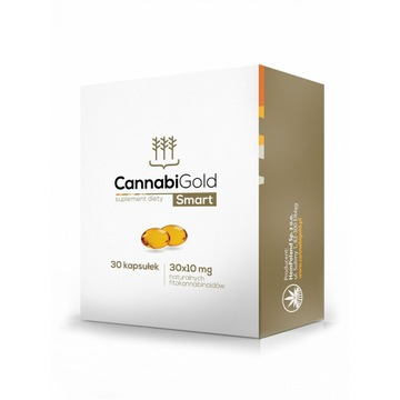CannabiGold Smart - opakowanie 30 kapsułek