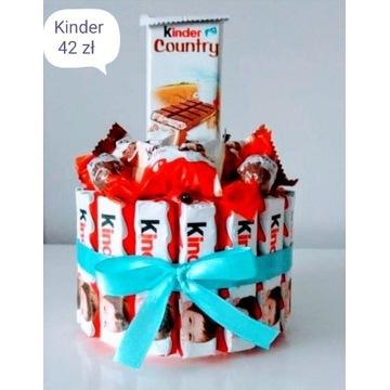 Tort z kinderków