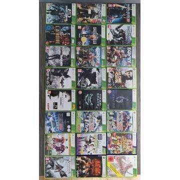 Zestaw 24 gier na xbox 360