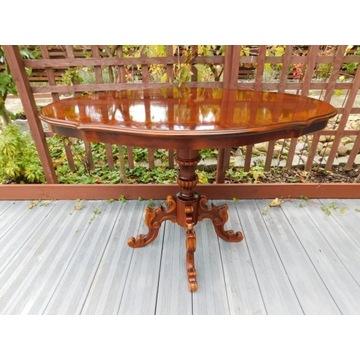 stolik lawa w stylu rokoko forma elipsy nr195 Fiaf