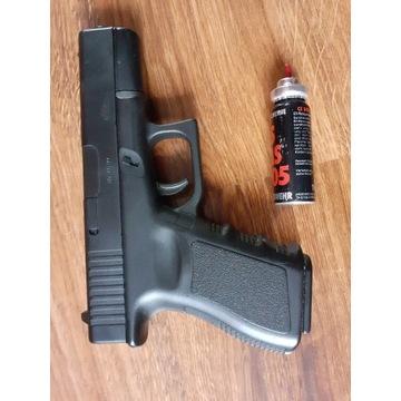 pistolet gazowy+ kabura
