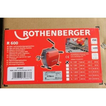 Sprężyna mechaniczna ROTHENBERGER R600