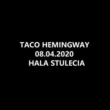 Bilety na koncert Taco Hemingway Wrocław 08.04