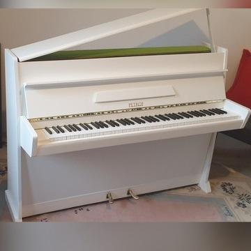 Pianino petrof biale.