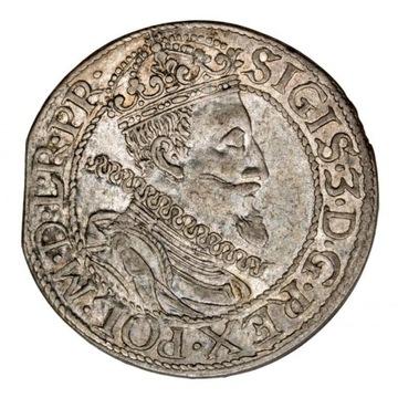 ort 1612 Zygmunt III Waza Gdańsk PIĘKNY