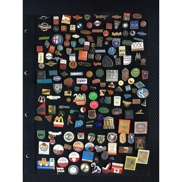 Odznaki zbiór około 1000 szt.