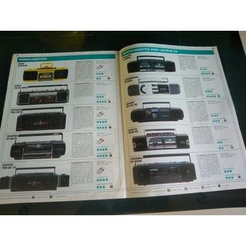 Katalog walkman 1988