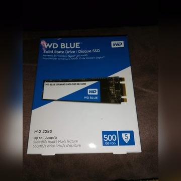 Dysk SSD WD Blue 3D Nand M2 500GB