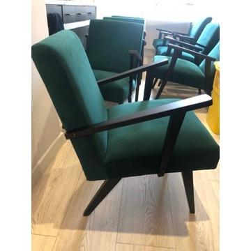 Fotele PRL po renowacji Lisek Var