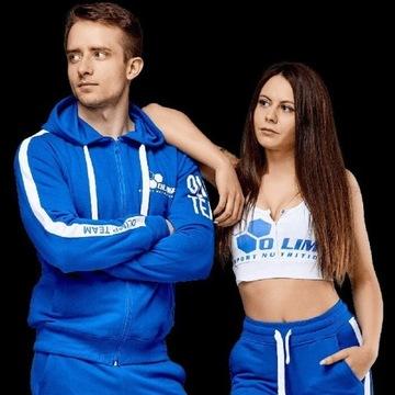 Sportowa bluza marki Olimp rozmiar M. sportowa fit