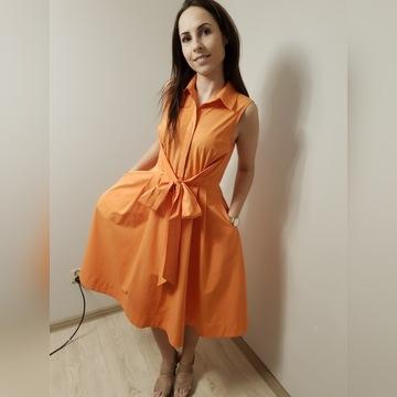 Piękna sukienka renomowanej firmy HOBBS r.S