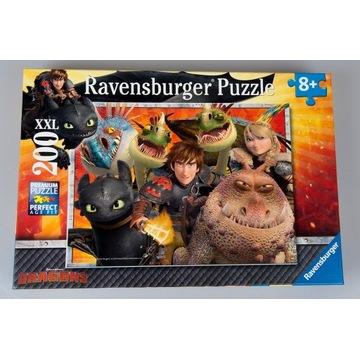 Ravensburger puzzle Jak wytresować smoka 8+ 200el.