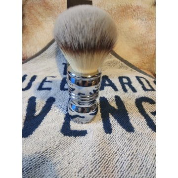 Pędzel  RazoRock Chrome Silvertip Synthetic